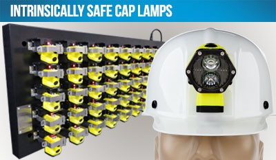 Intrinsically Safe Cap Lamps